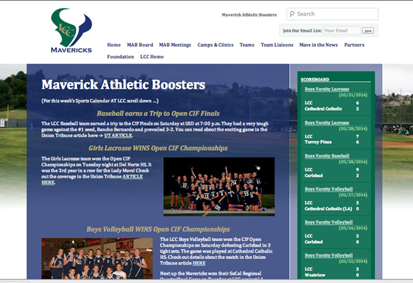 Mavericks Athletic Boosters